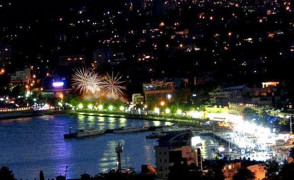 Крым встретил новый год