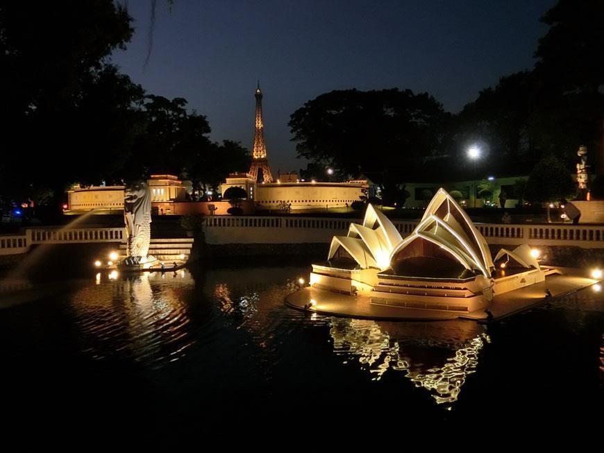 Самостоятельная поездка в Парк Мини Сиам в Паттайе