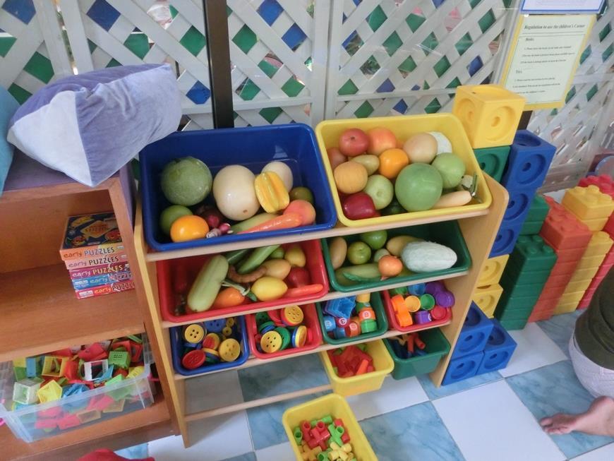 Бесплатная игровая комната для детей на Джомтьене